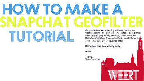 how to make a snapchat geofilter easiest and quickest