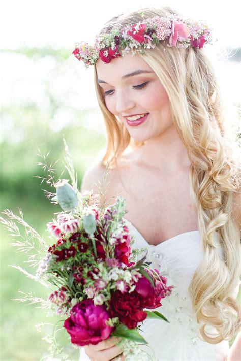 Hochzeitsfrisur Perlen by Brautstyling