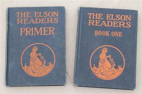 the pattern making primer book 1920s vintage reading primer early reader book one elson
