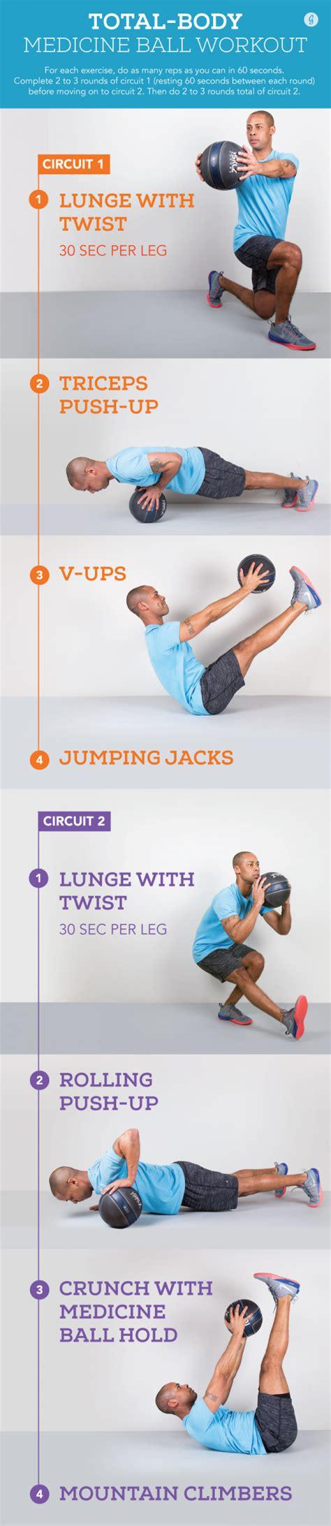 medicine ball exercises greatist