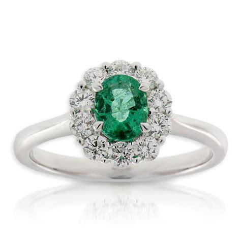 emerald ring 14k ben bridge jeweler