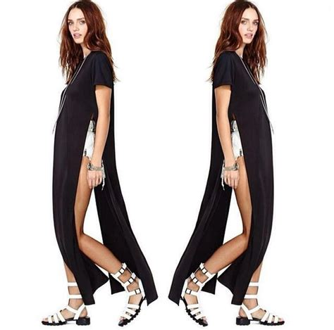 How To Use A Slit L by Dress T Shirt Dress T Shirt Side Slit Side Split Side