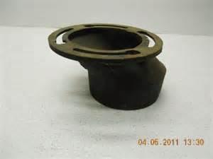 wesco 1014 a cast iron offset toilet flange ebay