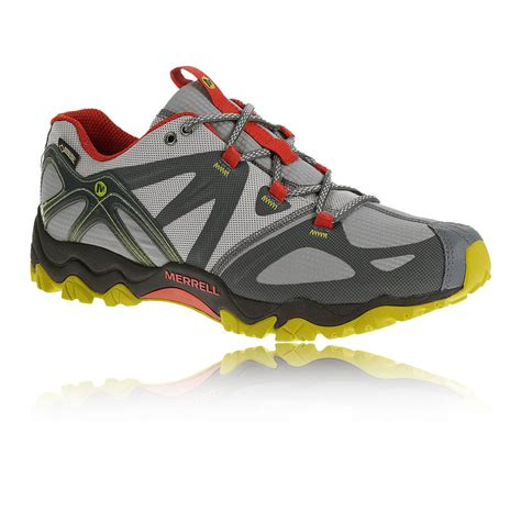 sports walking shoes merrell grassbow mens grey tex walking outdoors
