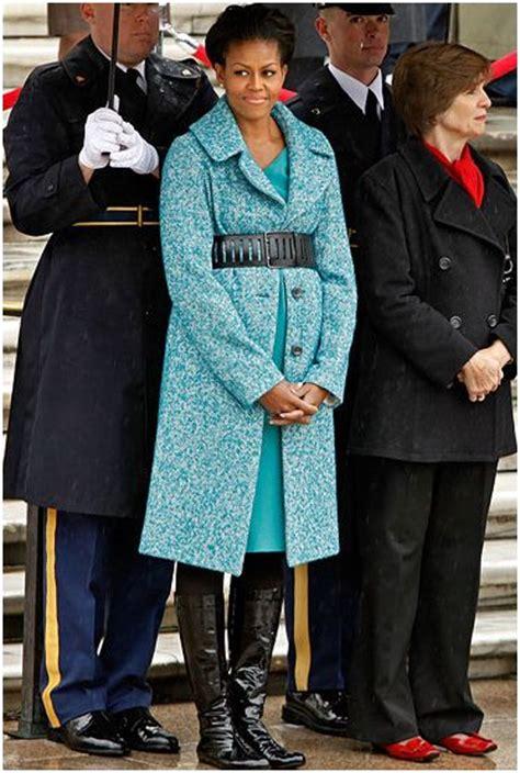 michelle obama j crew michelle obama belted j crew coat