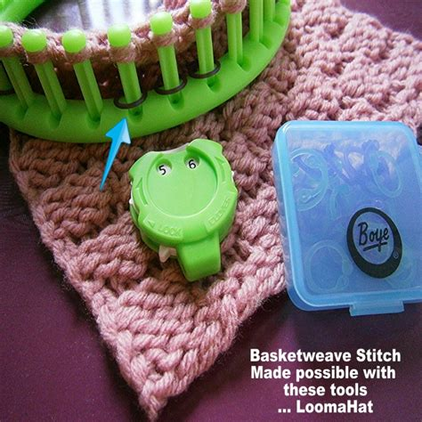 boye loom knitting book boye stitch markers use on loom as peg markers