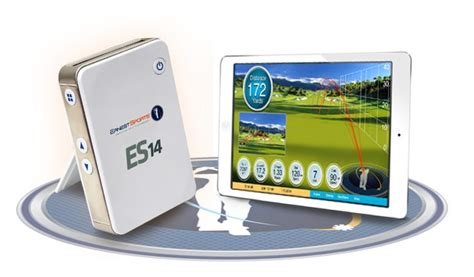 golf swing monitors portable es14 launch monitor smartphone app improve your
