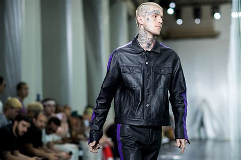 vlone s debut collection at paris fashion week above the