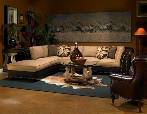 jungle themed living room decorating with a safari theme 16 wild ideas living