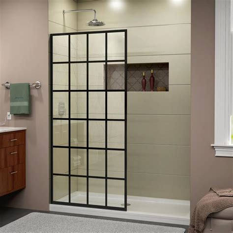 dreamline shower door installation shop dreamline linea 34 in to 34 in frameless satin