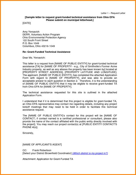 Request Letter Sle For Scholarship 28 letter of support template grant enernovva org