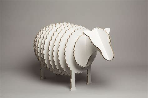 cardboard sheep template quot stanley quot the cardboard sheep by mat bogust via behance
