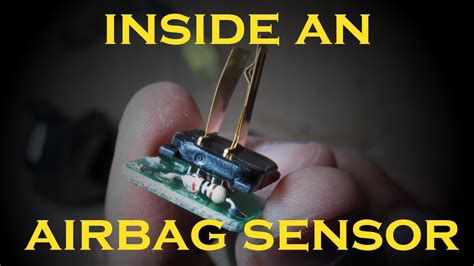 airbag sensor works youtube