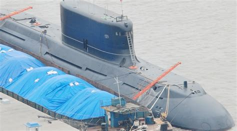 Qing Navy type 032 qing class diesel electric ballistic