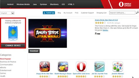 java games and apps opera mobile store opera mobile store hits 140 000 apps 75 million monthly