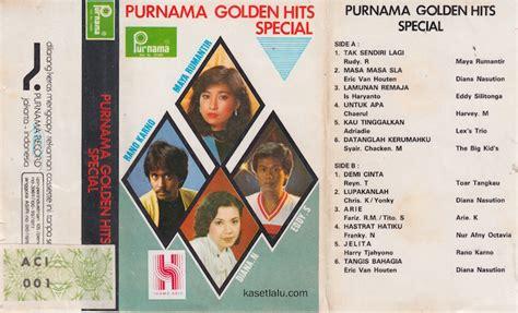 Kaset Pita Ervinna Golden Hits purnama golden hits special kaset lalu