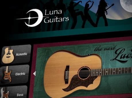 Acoustic Guitar Sweepstakes - luna guitars monthly giveaway chorder com