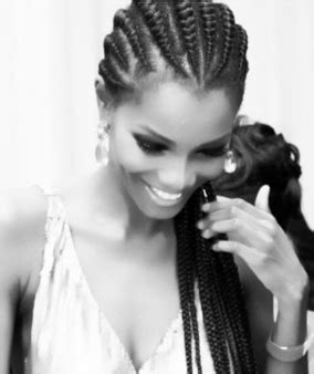 dija hair styles former miss world agbani darego shares a mind blowing