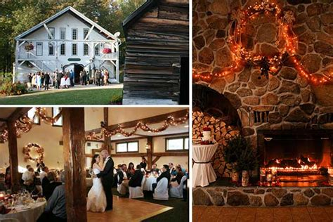 winter wedding venues in new rustic wedding ideas in new