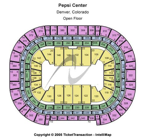 pepsi center floor plan pepsi center tickets in denver colorado pepsi center seating charts events and schedule