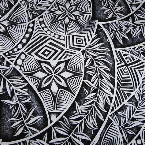 tribal pattern hawaiian hawaiian print pacific island tribal elements tropical