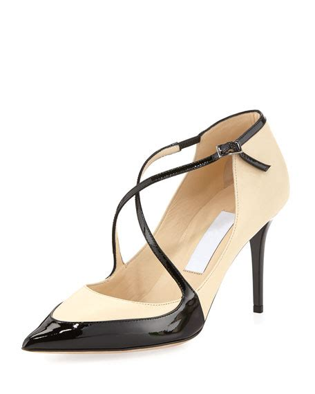 Jimmy Choo Re Sold by Jimmy Choo Madera Crisscross Point Toe Black