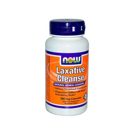 Future Now Detox Reviews by Laxative Cleanse 100 Caps Now Foods