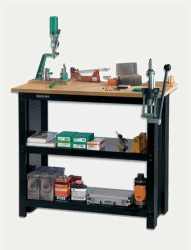 cheap reloading bench stackon wb382 steel reloading bench