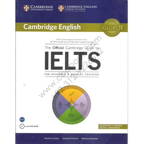 Ielts Academic Or General For Mba the official cambridge guide to ielts for academic and