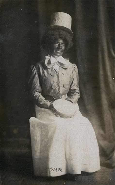 Portraits Of White In Blackface From S Art