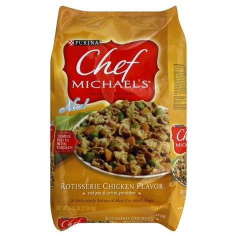 chef michael food purina chef michael s food rotisserie chicken flavor