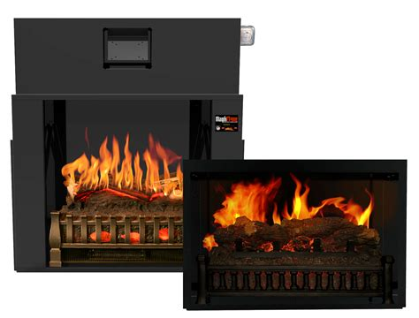 buy realistic electric fireplaces