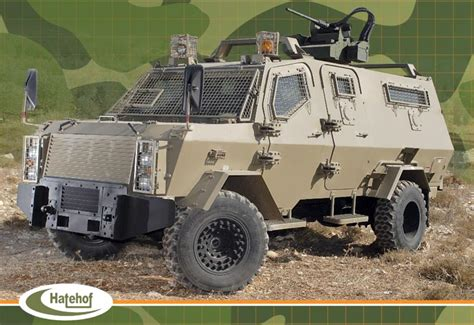 Light Armored Vehicle by Hatehof Wolf Multi Mission 4x4 Light Armored Vehicle Israel