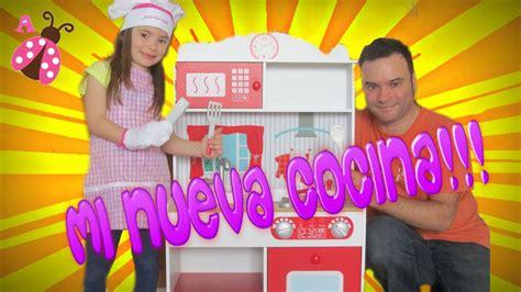 mi nueva cocina en mi cocina hoy mi nueva cocina de juguete juguetes para ni 241 as