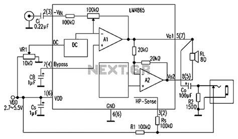 bridged lifier diagram surveillance circuit page 2 security circuits next gr