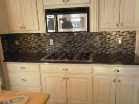 Glass Tile Kitchen Backsplash Ideas Glass Kitchen Backsplash Ideas Home Design Ideas