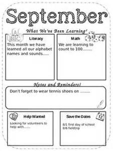 5th Grade Newsletter Template by 1000 Images About Class Newsletter On