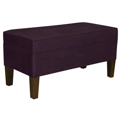 home decorators bench home decorators collection purple bench 848ppur the home