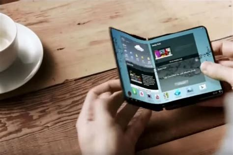 samsung may release two bendable smartphones next year