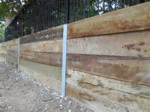 australian retaining walls timber retaining walls