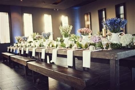 rent benches for wedding seeking rustic wood tables benches to rent weddings