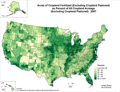 united states agriculture map usda nass census of agriculture 2007 census ag atlas