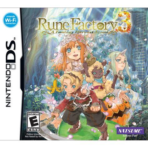 Emuparadise Rune Factory | rune factory 3 a fantasy harvest moon u rom