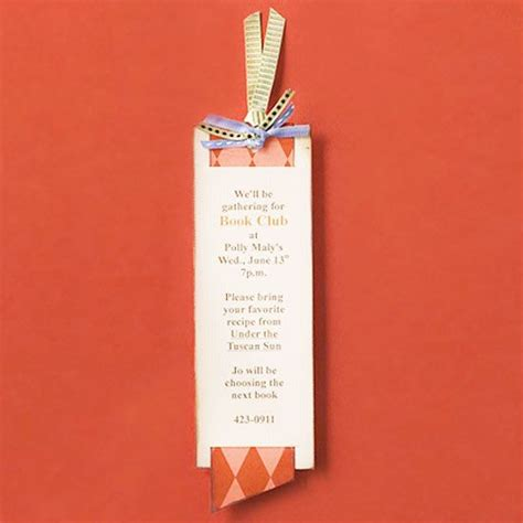how to host a book club a well bookmarks and the text