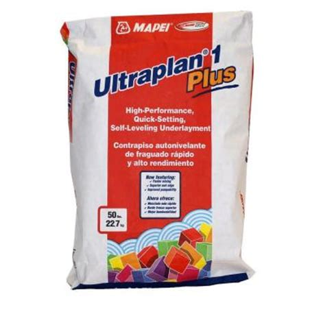 mapei ultraplan 1 plus 50 lb self leveling underlayment