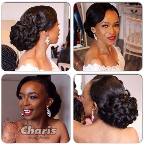 updos wedding black hairstylist in maryland photo by charis hair bm coiffure pinterest mariage