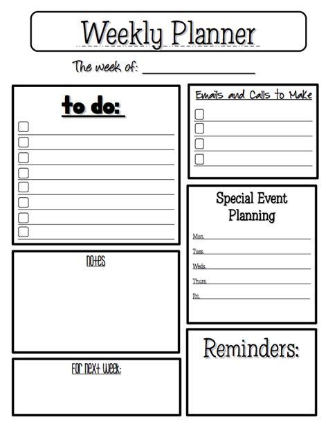 printable teacher planner template the best of teacher entrepreneurs free misc lesson