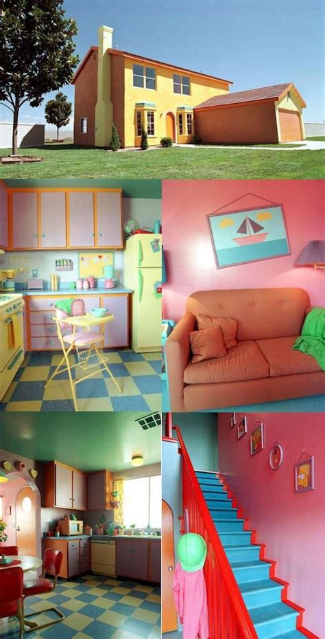 visit to the simpsons house real life simpsons house funny pictures funny photos