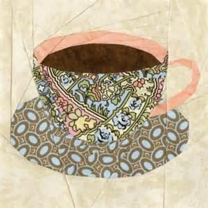 teacup quilt block pattern