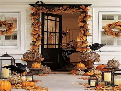 fall decor  front porch front idea porch fall decor